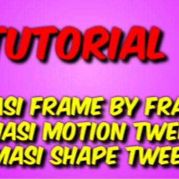 Konsep Animasi dalam Adobe Flash