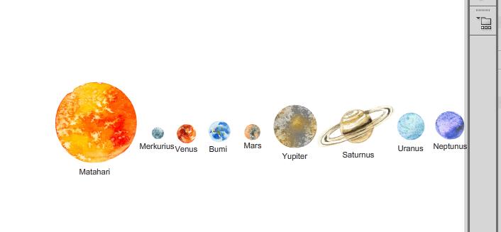 Tutorial Membuat Animasi Lintasan Planet Mengelilingi Matahari