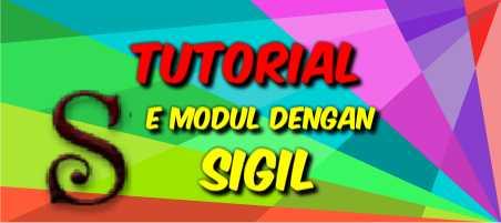 Membuat E Modul dengan SIGIL